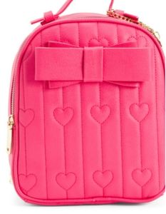 Betsey Johnson Hearts and Bows small backpack